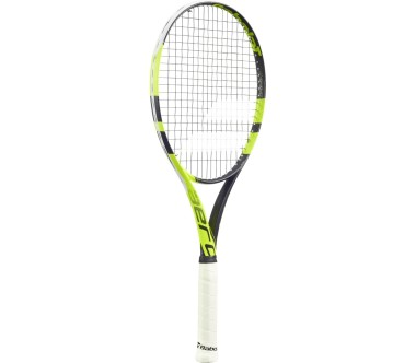Babolat - Pure Aero Lite unstrung tennis racket (black/yellow)