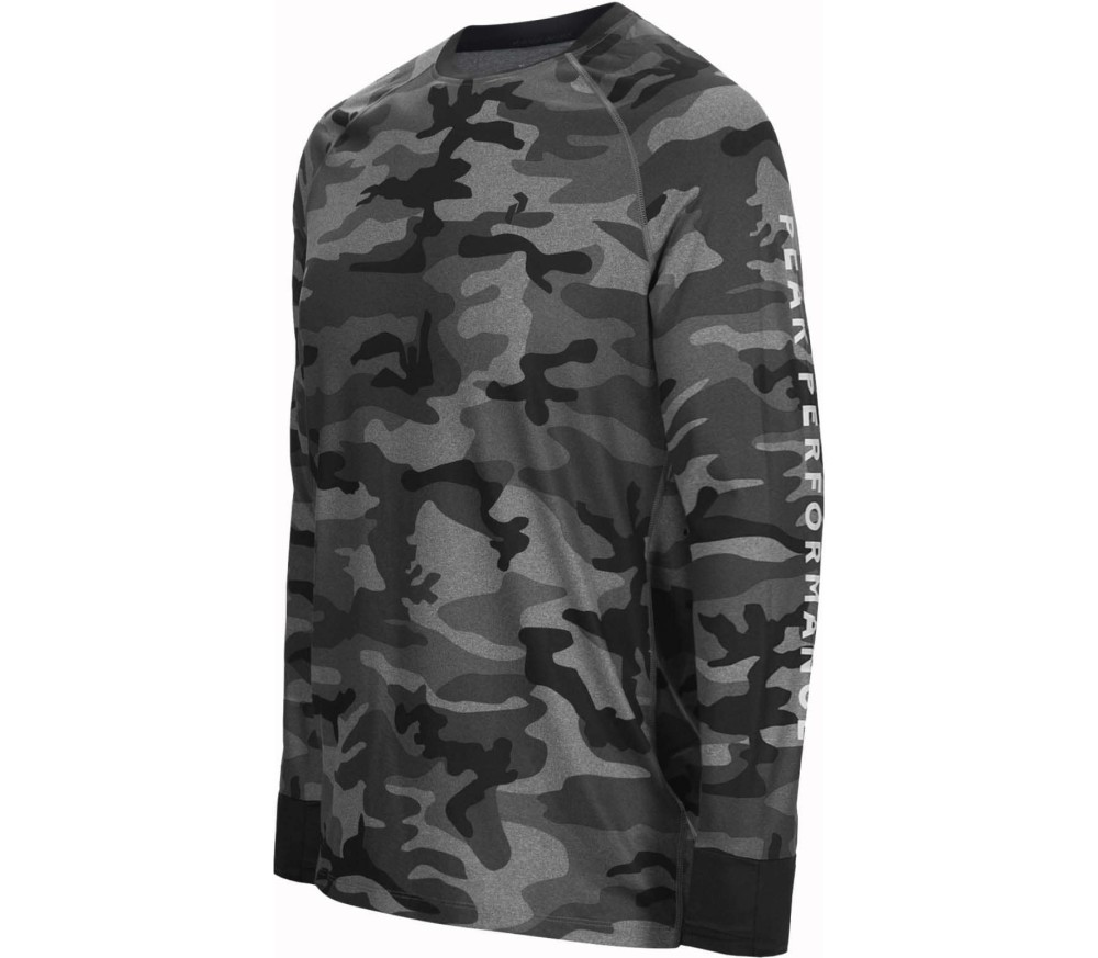 Peak Performance - Spirit Camo men's baselayer (grey)