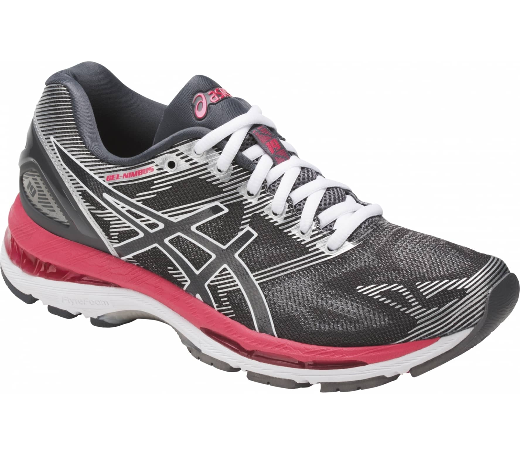 pick up 385f3 38844 ASICS Gel-Nimbus 19 Women silver