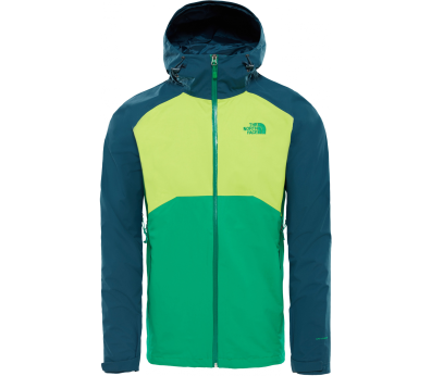 The North Face - Stratos men's functional jacket (green/blue)