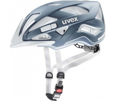 Uvex City Active Mountainbikehelm Unisex silber