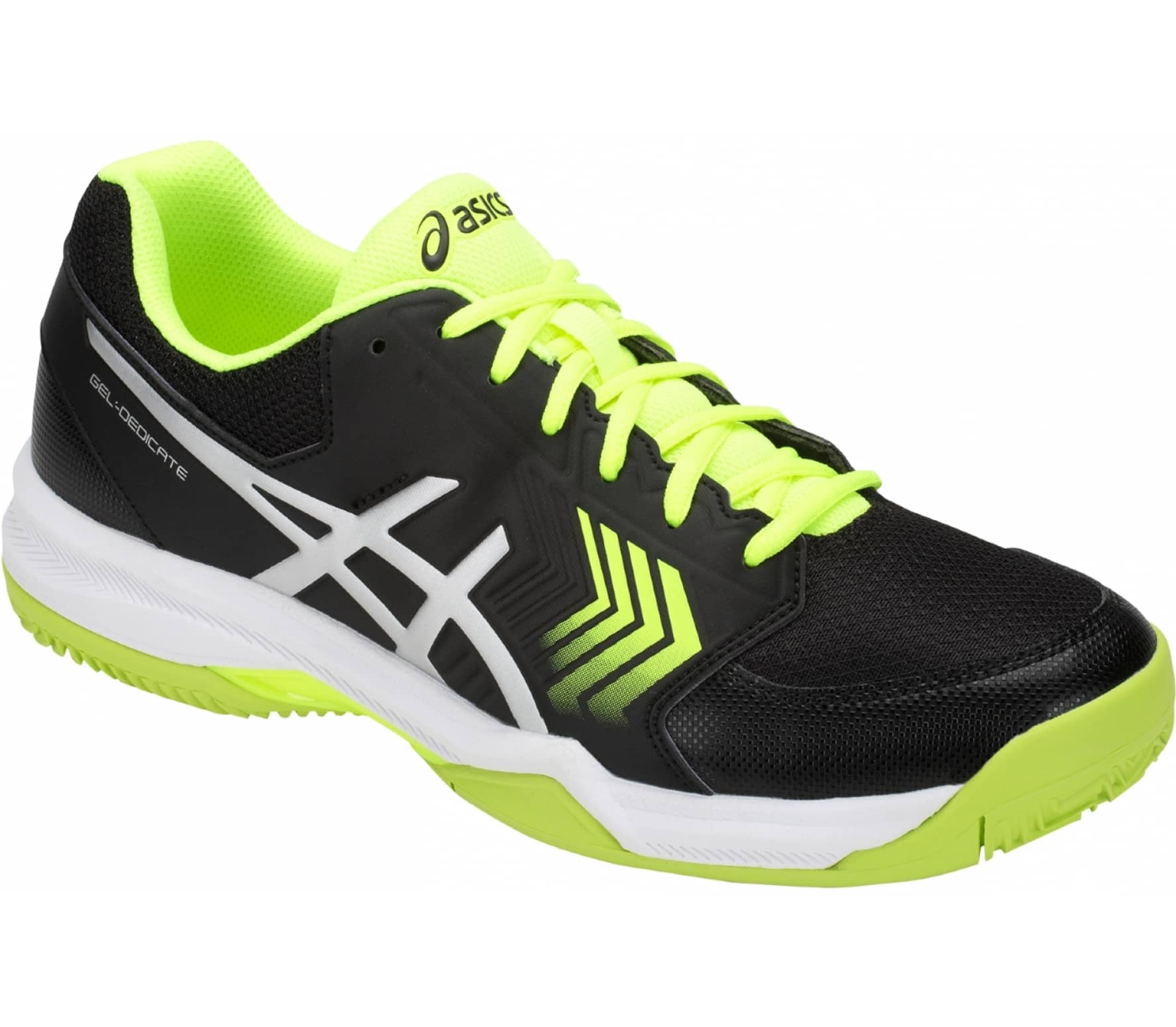 f67df389708e ASICS - Gel-Dedicate 5 Clay men s tennis shoes (black) - buy it at ...