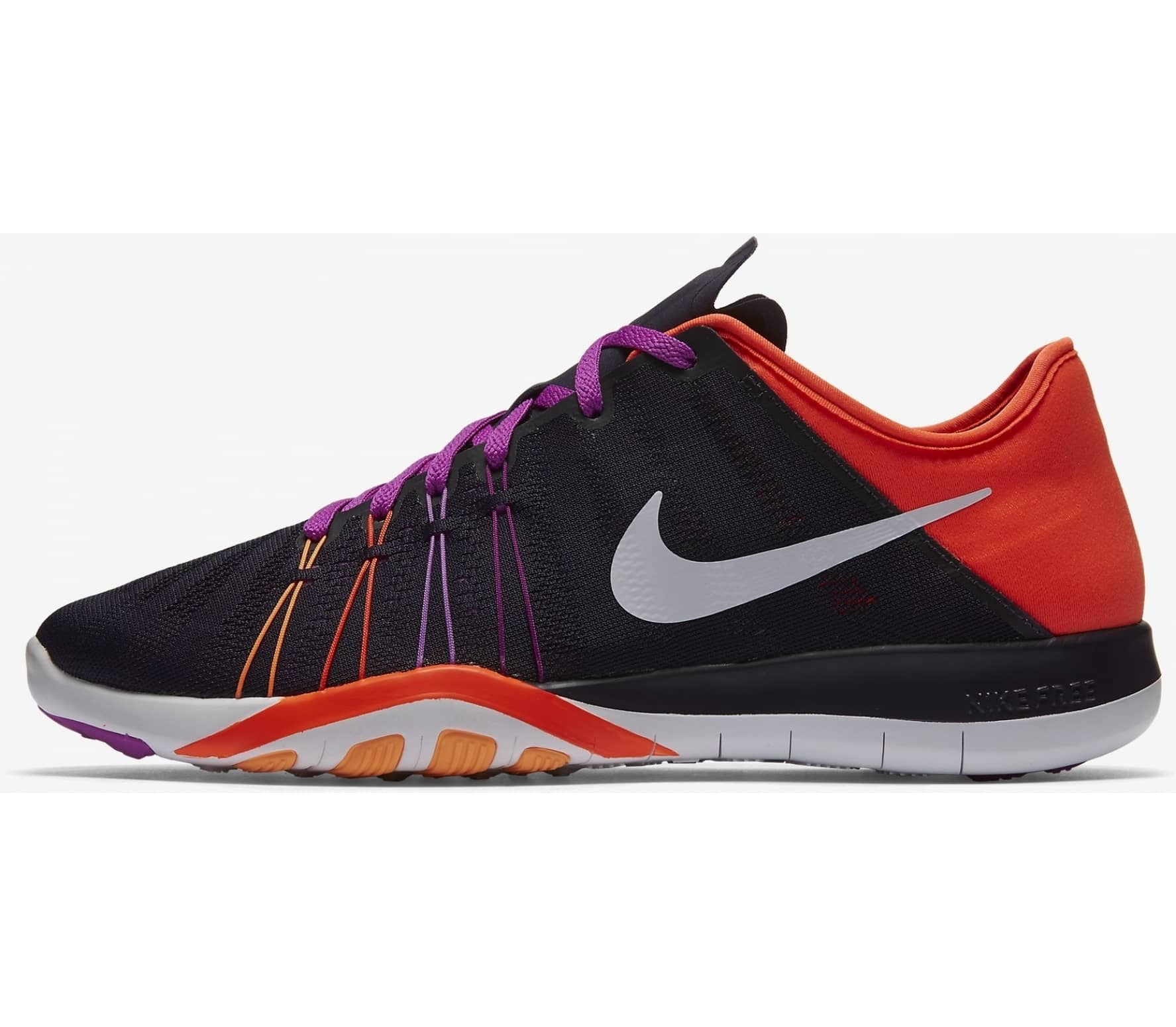 timeless design b6f5b 10fab Nike - Free TR 6 women s training shoes (black orange)