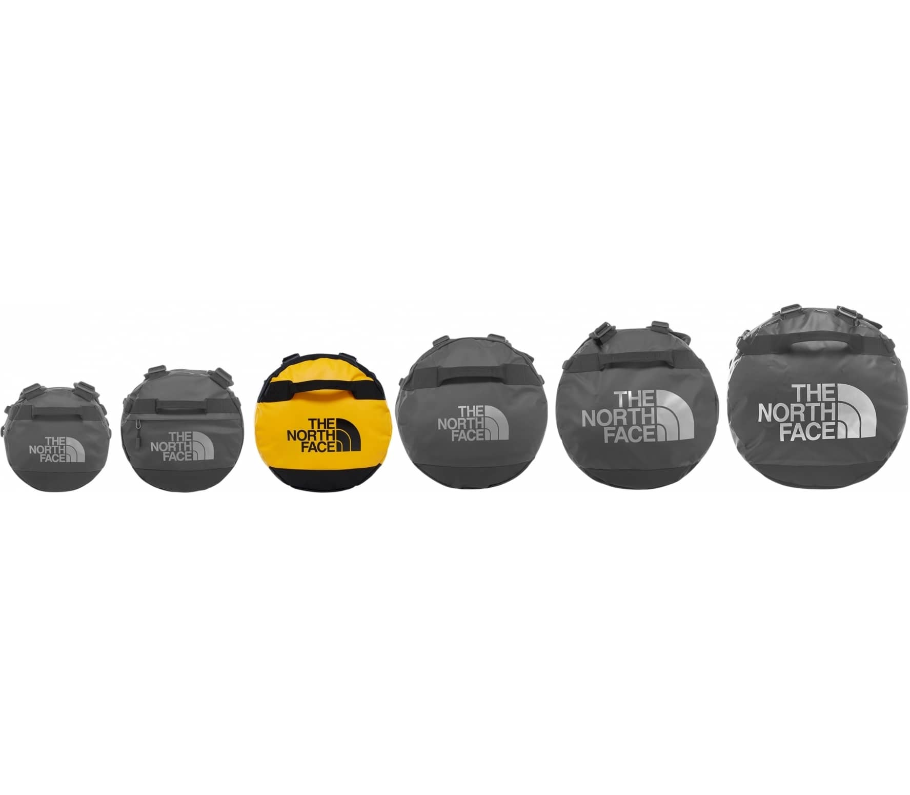 The North Face - Base Camp M - Update Duffel (gelb/schwarz)