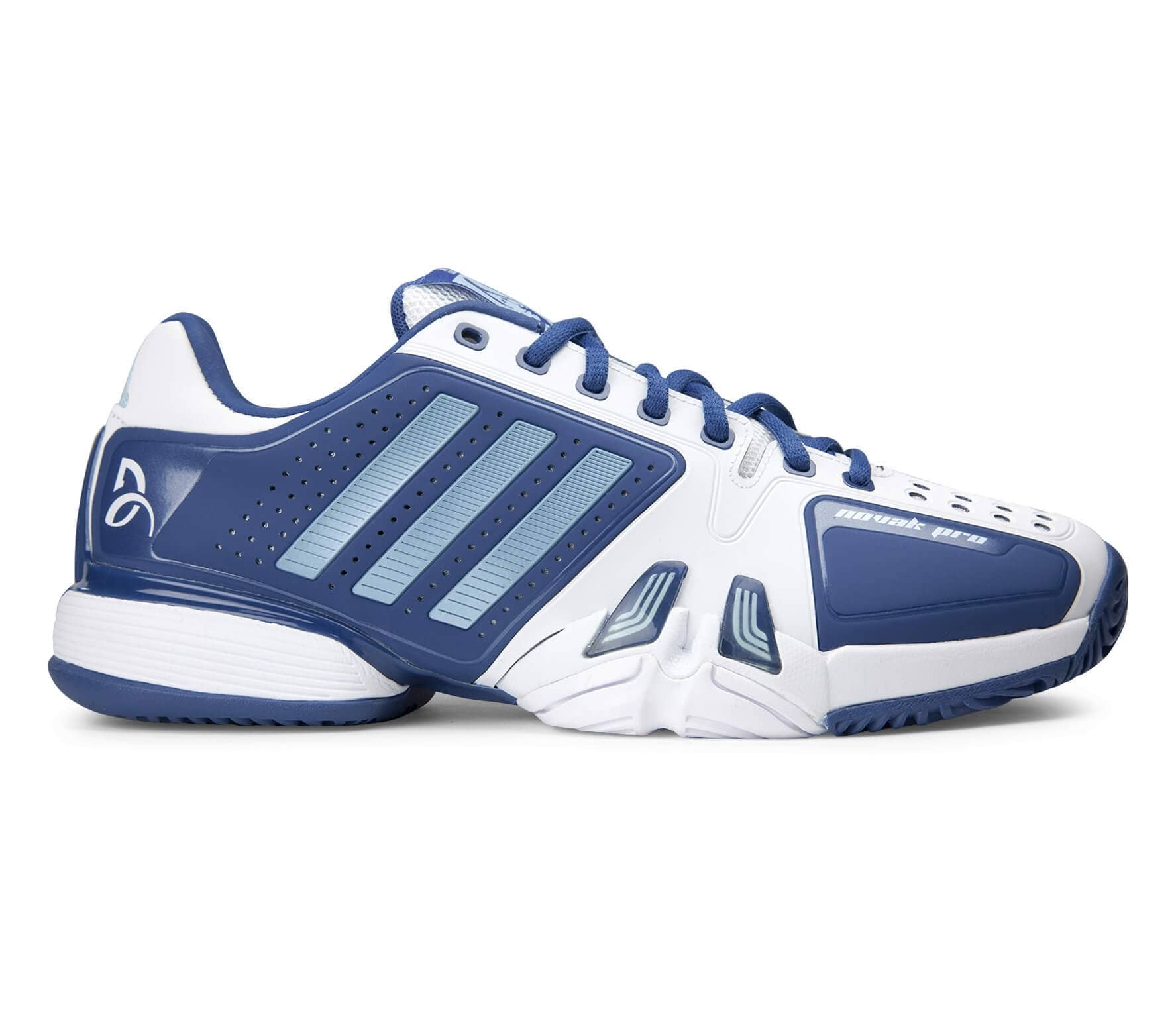 the latest 7fc50 c9669 Adidas - Novak Djokovic Pro Hommes Chaussure de tennis (bleu blanc)