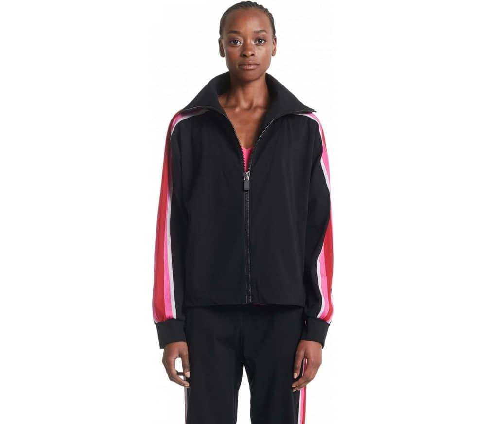 Vertical Zip-Up Damen Sweatjacke