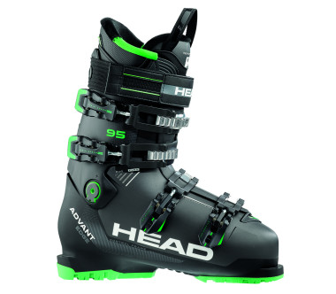 Head - Advant Edge 95 men's ski boots (grey/green)