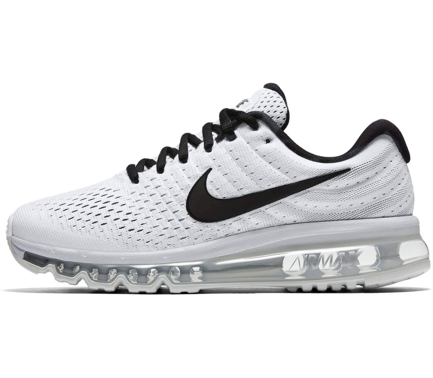new style 606b9 74f7a Nike - Air Max 2017 women s running shoes (white black)