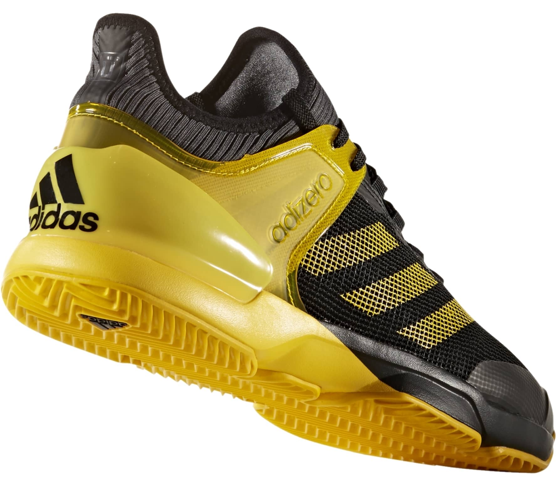 purchase cheap 41d0e 60bf6 Adidas - Adizero Ubersonic 2 Clay mens tennis shoes (blackyellow)