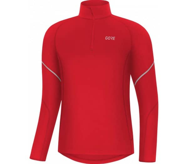 GORE® WEAR M Mid Zip Men Running Long Sleeve