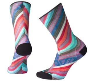 PhD Outdoor Light Print Crew Mujer Calcetines
