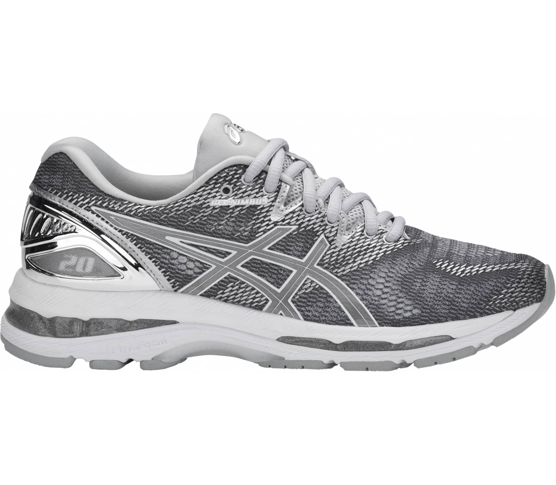 ASICS - Gel-Nimbus 20 Platinum women s running shoes (white grey ... aa40b19e9791