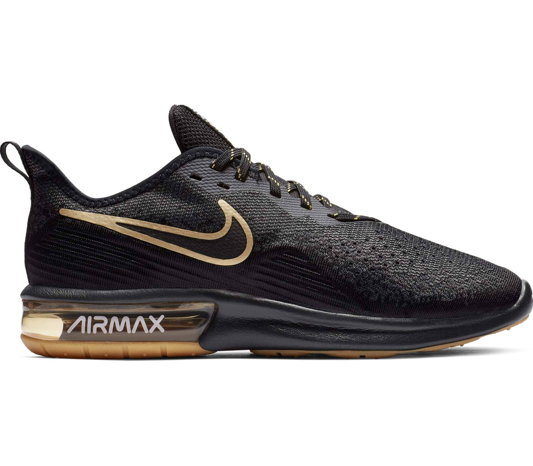 huge discount 7531a 630dd Air Max Sequent 4 Herren Laufschuh (schwarz) - EU 42,5 - US