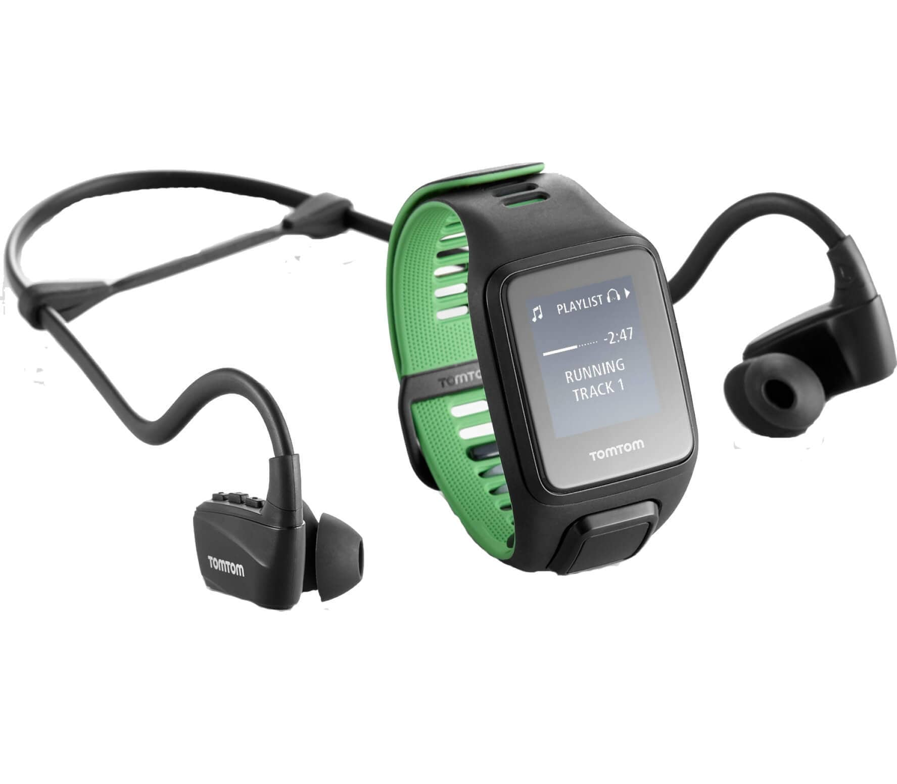 TomTom - Runner 3 Cardio Music Headphones GPS S...