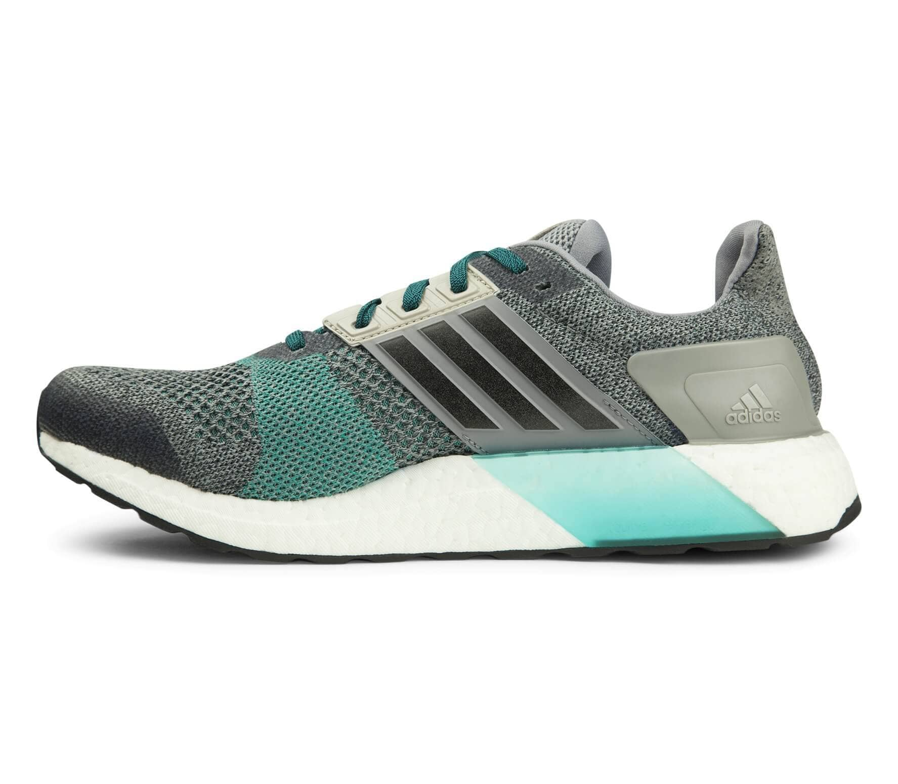 AF6517 Adidas Ultra Boost ST Hombres Running Zapatos Gris