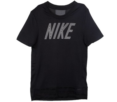 Nike Dry Junior Trainingsshirt Children silver