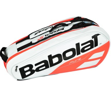Babolat - Pure Racket Holder X6 Tennistasche (weiß/rot)