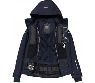 Zip Hood Women Ski Jacket