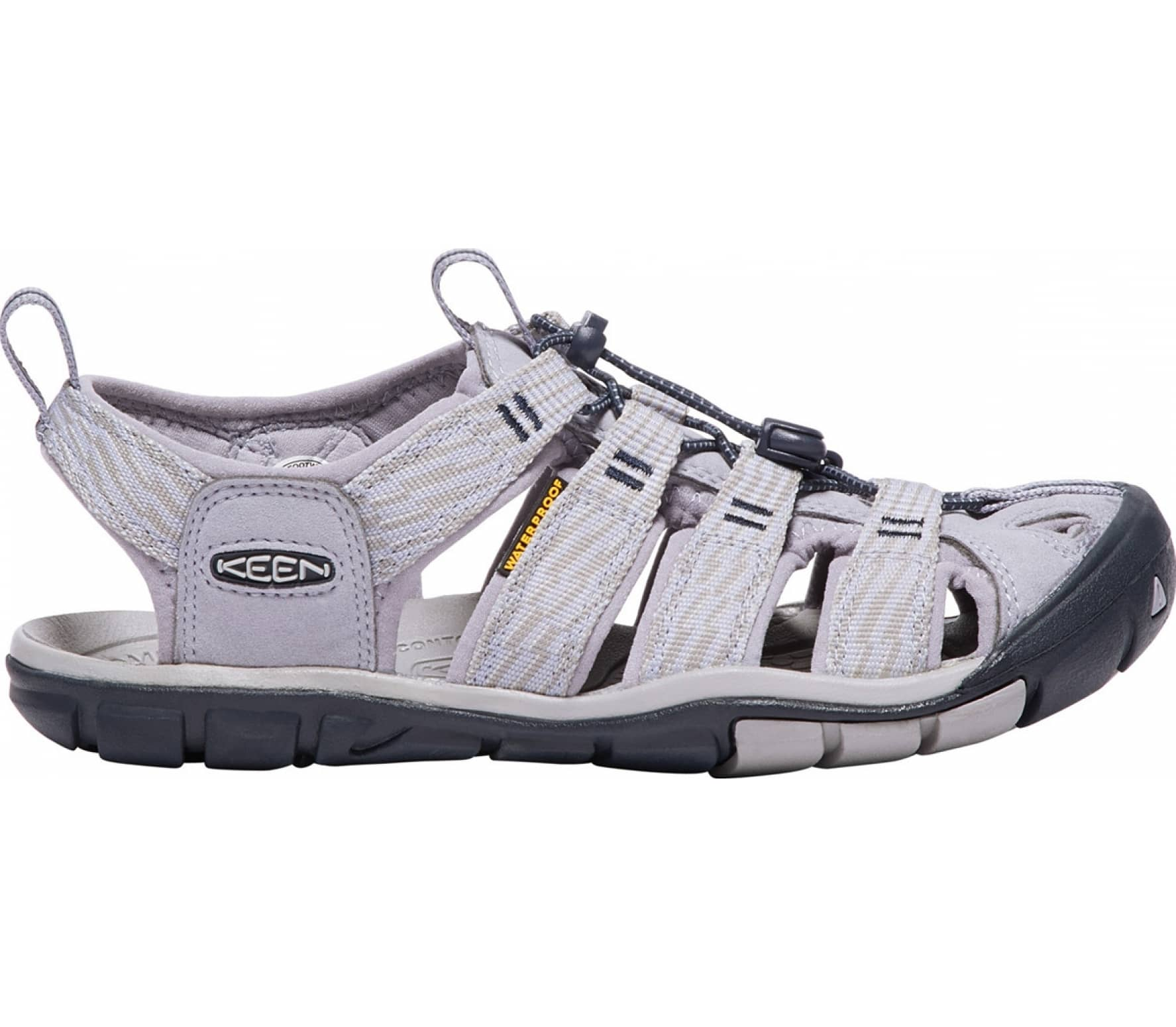 c421eb4b7894 Keen - Clearwater Cnx women s outdoor sandals (grey) - buy it at the ...
