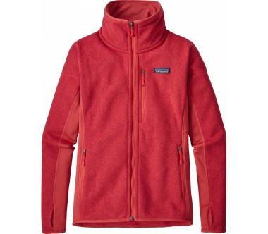 Patagonia - Performance Better sweater women's fleece jacket (red)