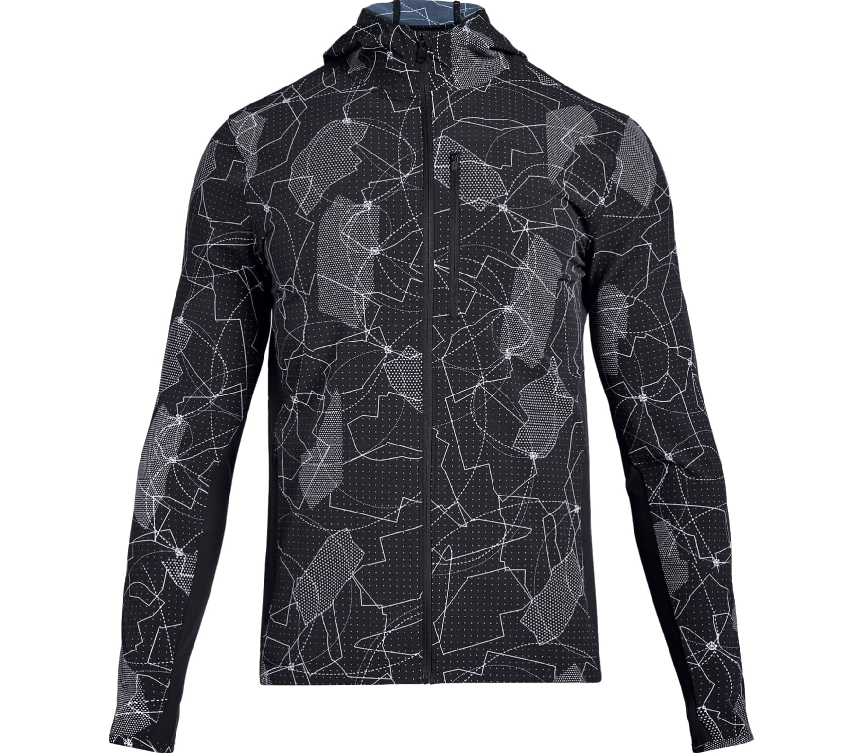 Under Armour - Outrun The Storm men's running jacket (black) - M thumbnail
