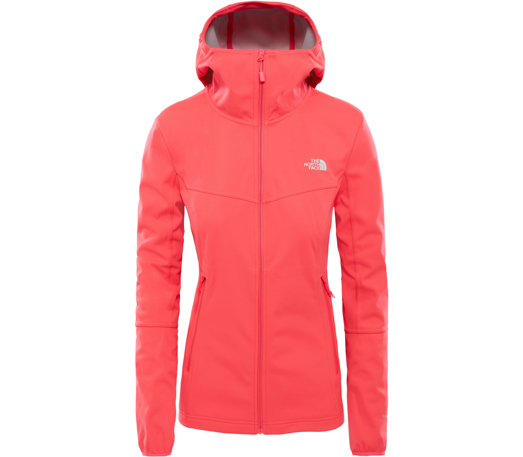 The North Face - Hikesteller Softshell Damen Powerstretchjacke (rot)