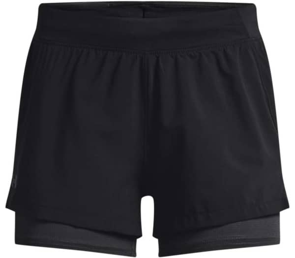 UNDER ARMOUR Iso-Chill Run 2n1 Damen Laufshorts - 1
