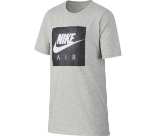 Nike Air Logo Junior Trainingsshirt Kinder silber