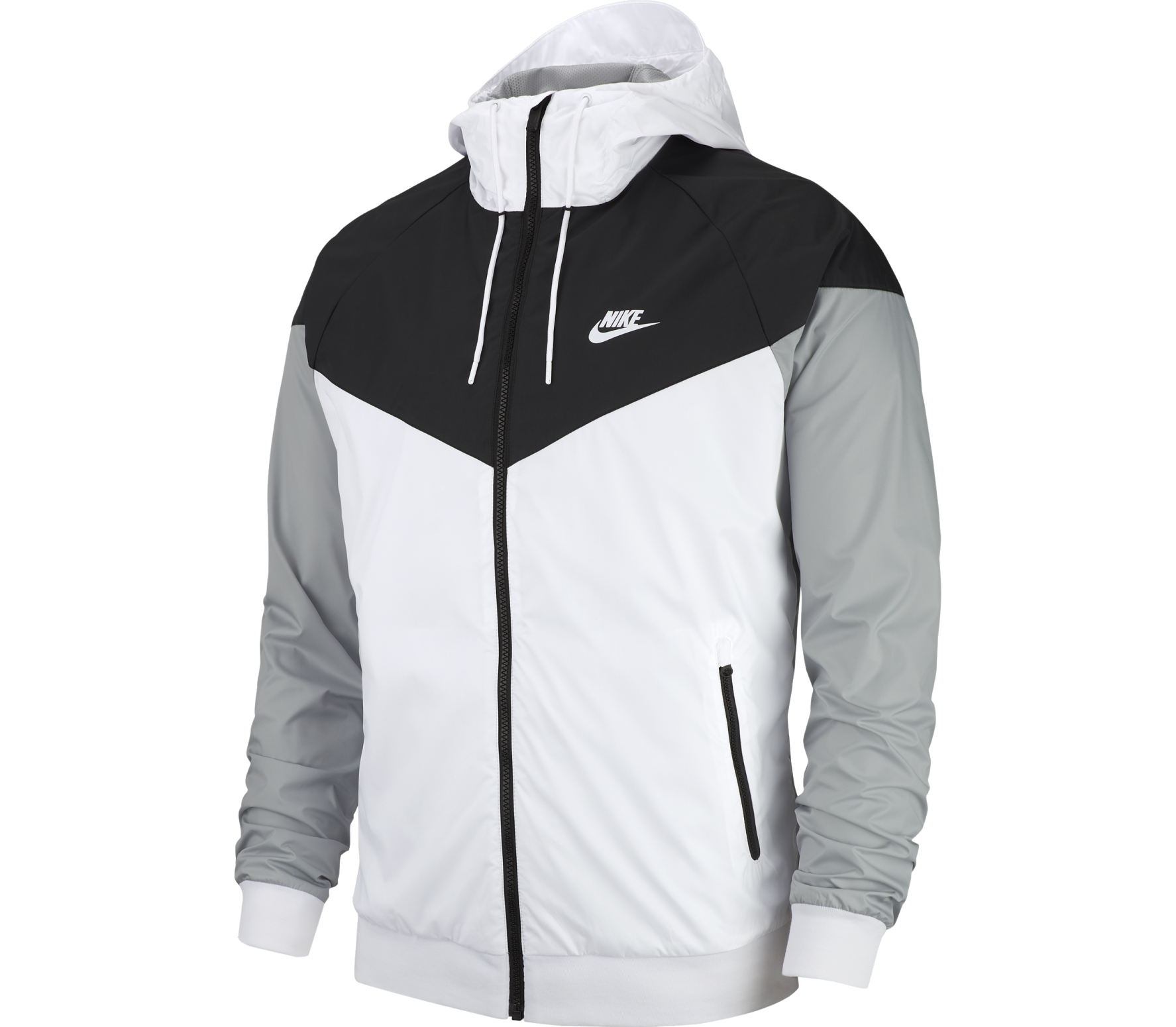 4014f8f244 Nike Sportswear - Windrunner men s jacket (white grey) - buy it at ...