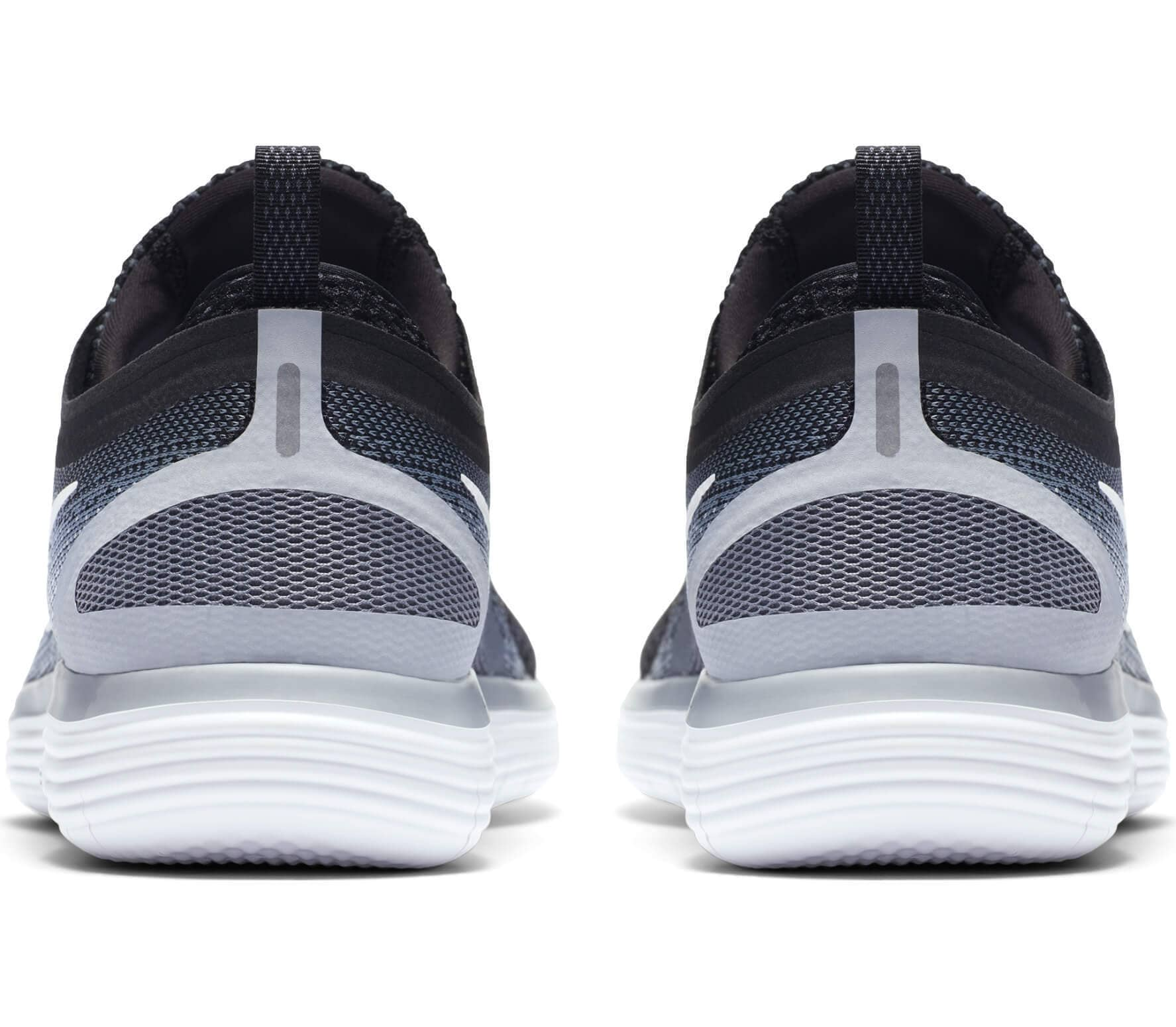 quality design b9431 3710a Nike - Free RN Distance 2 men s running shoes (black white)