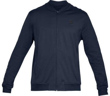 Under Armour - Sportstyle Tricot Track men's training jacket (blue)