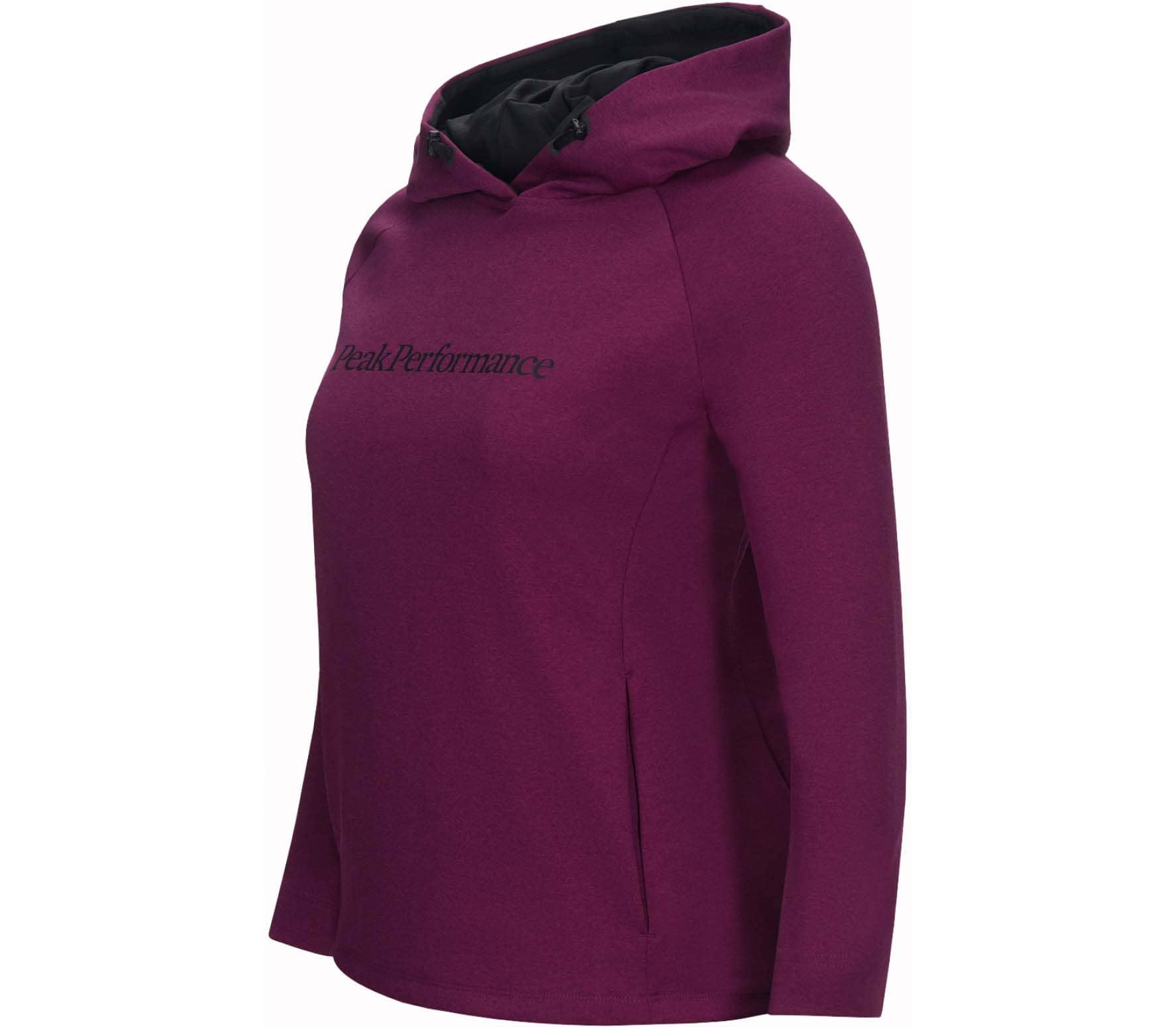 Peak Performance - Pulse women's functional hoodie (red)