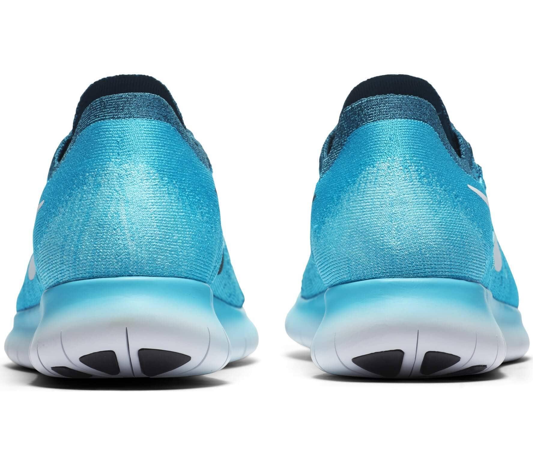 Nike Flyknit azzurro