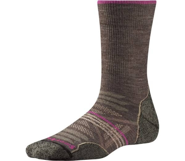SMARTWOOL PhD Outdoor Light Crew Damen Wandersocken - 1