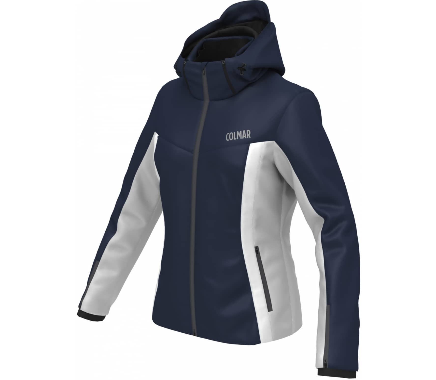 bb281a55f0 Colmar - Meribel women s ski jacket (dark blue white) - buy it at ...