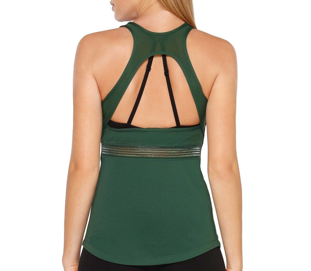 Lorna Jane - Jessie Excel women's training tank top top (green)