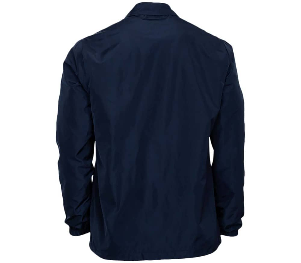 Coated Poly Woven Coach Hommes Veste