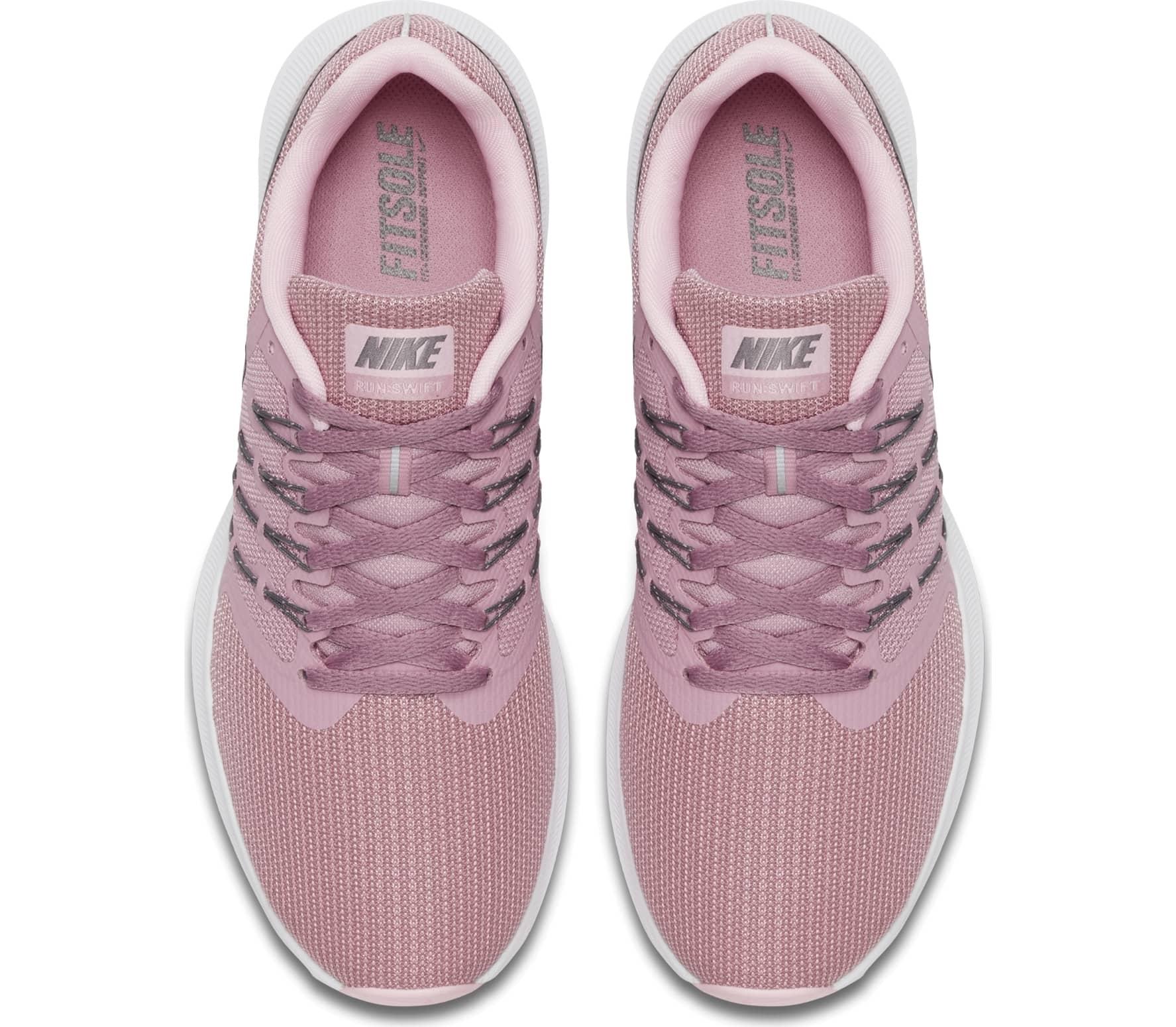 85afc2a1d1e Nike - Run Swift Dames Hardloopschoenen (roze/grijs) online kopen in ...