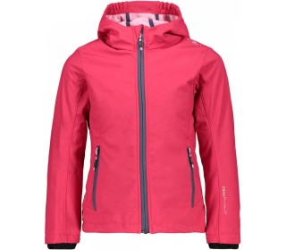 Fix Hood Children Softshell Jacket