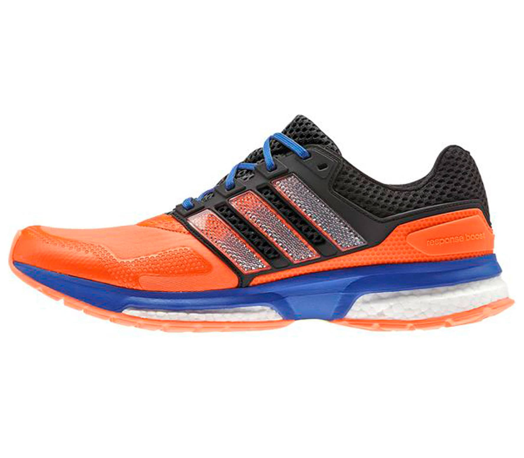 online store 40a8f 050bf Adidas - Response Boost 2 Techfit men s running shoes (orange blue)