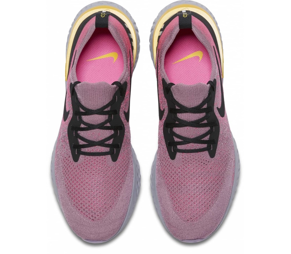 Nike Epic React Flyknit Hommes Chaussures running  rose