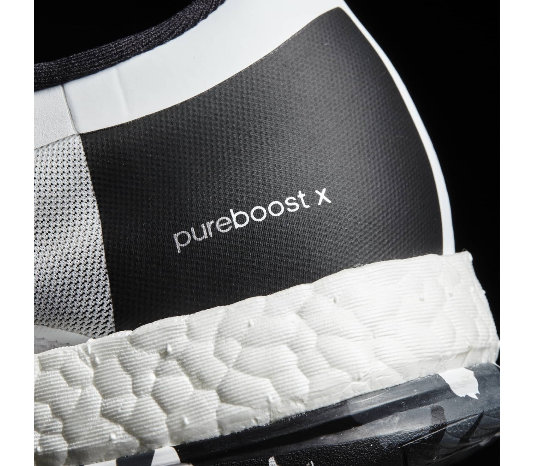 reputable site 83a27 eeff4 Adidas - Pure Boost X TR Zip women s training shoes (white black)