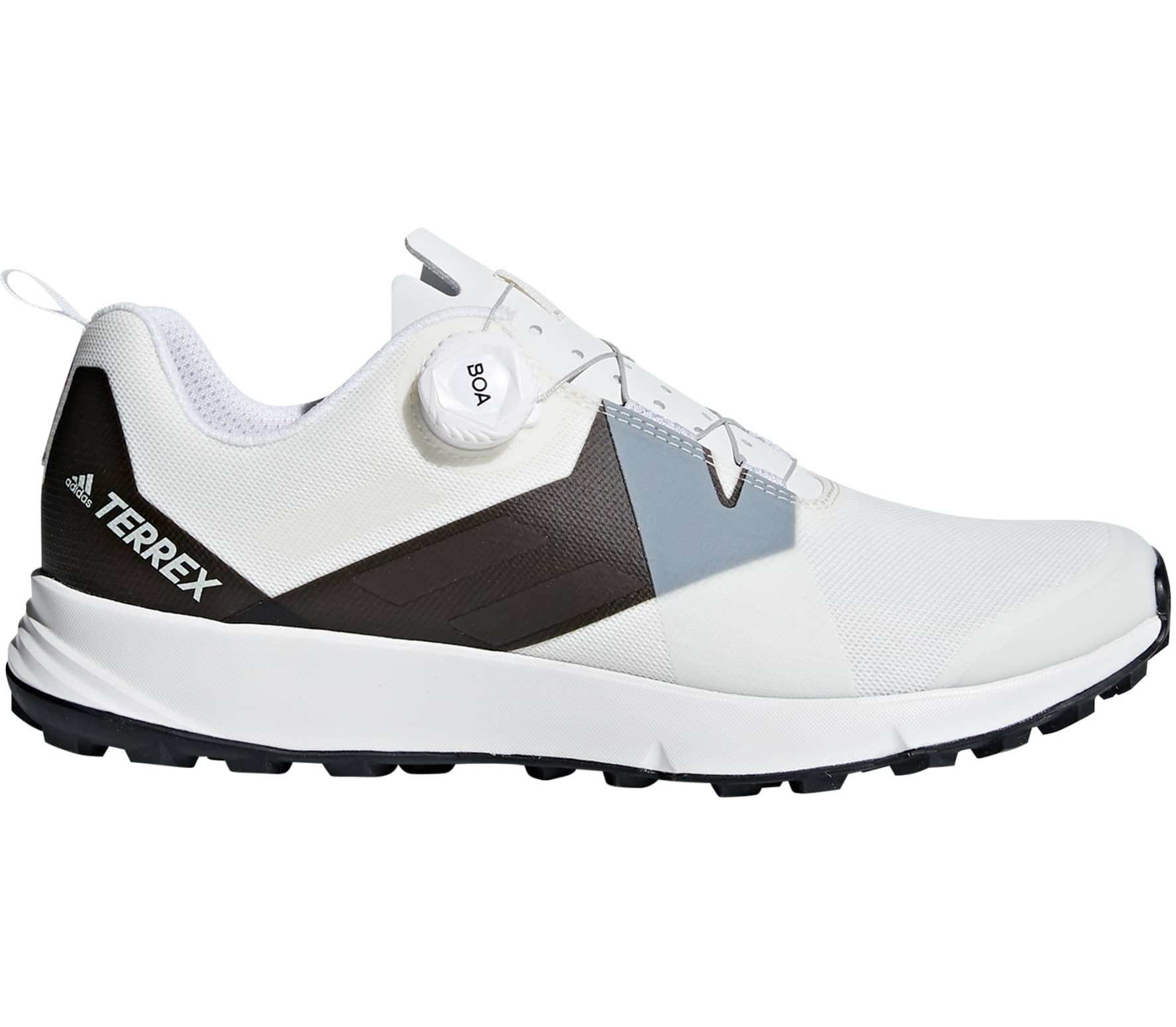 reputable site 7f34d d0165 Adidas - Terrex Two Boa men s mountain running shoes (white grey)