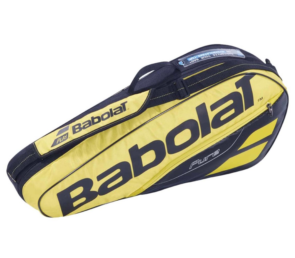 Babolat - RH X 3 Pure Aero tennis bag (yellow/black)