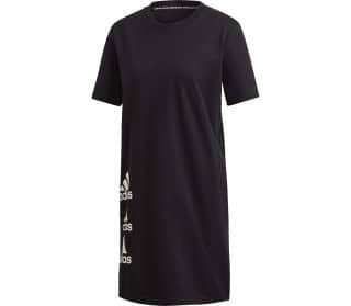adidas Stacked Logo T-Shirt Damen Kleid