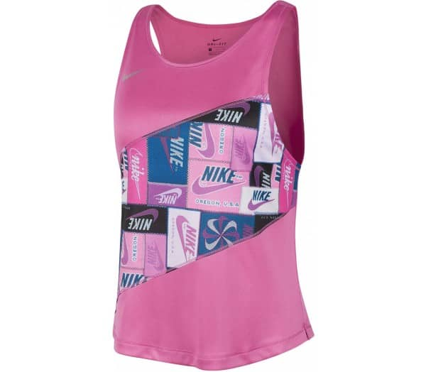 NIKE Red Damen Laufshirt