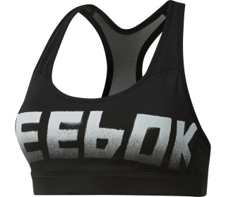 Reebok Hero Strappy Padded Damen Sport BH