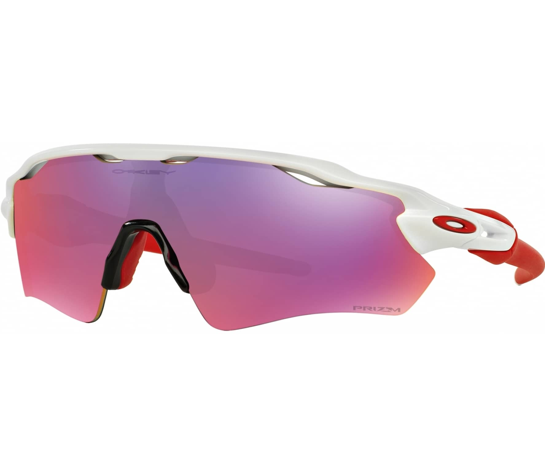 oakley radar ev path prizm road bike brille rot wei. Black Bedroom Furniture Sets. Home Design Ideas