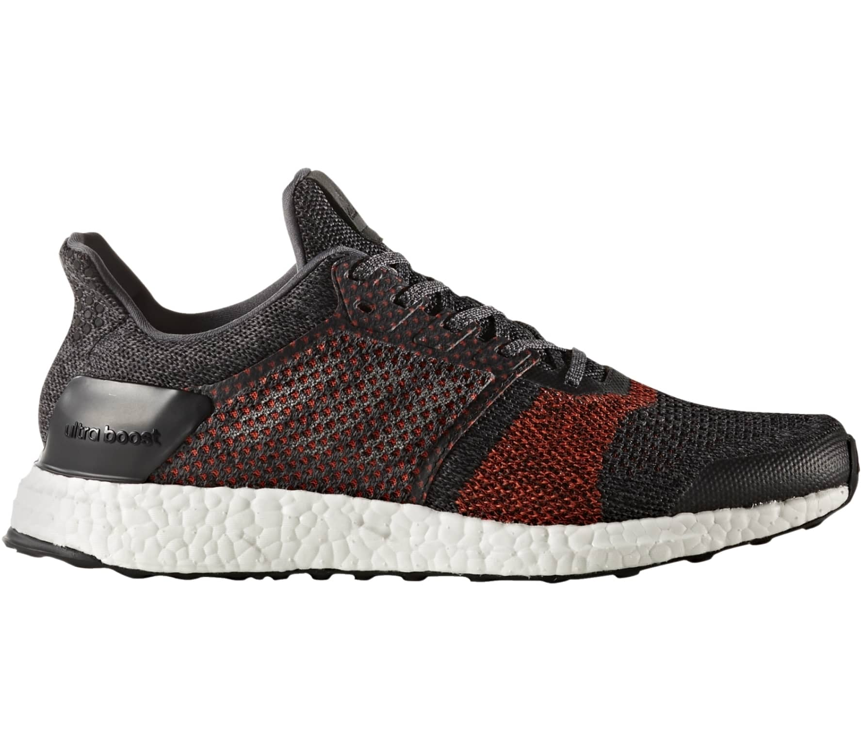 newest 4087d d8514 Adidas - Ultra Boost ST mens running shoes (dark redblack)