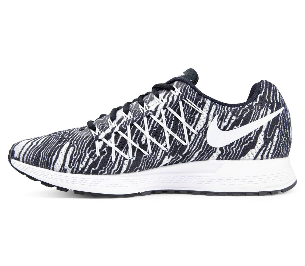 sports shoes 0d0ac dc5a9 Nike - Air Zoom Pegasus 32 Print Herr löparskor (svart vit)
